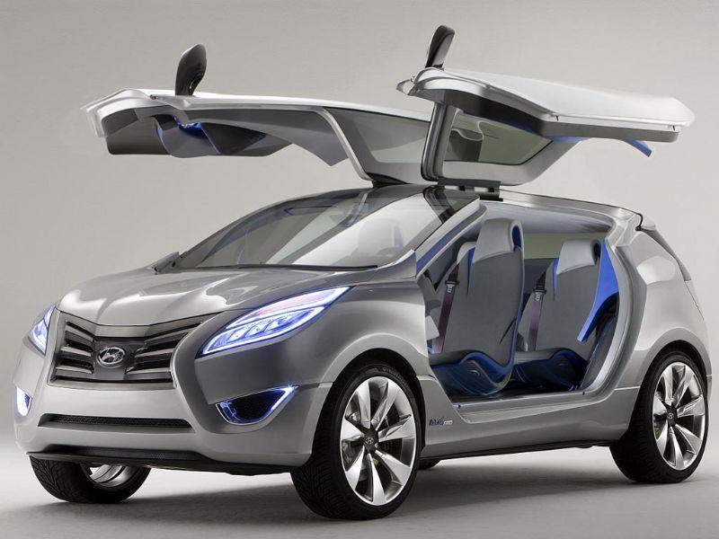 Hyundai Nuvis, Equus y Kia Forte