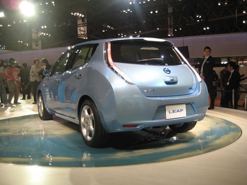 Nissan Leaf en Tokio 2009