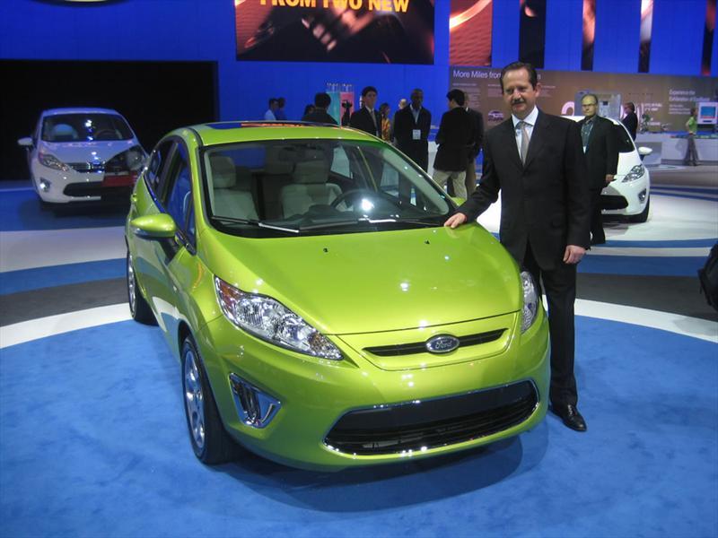 Ford Fiesta 2011 en Los Ángeles 2009