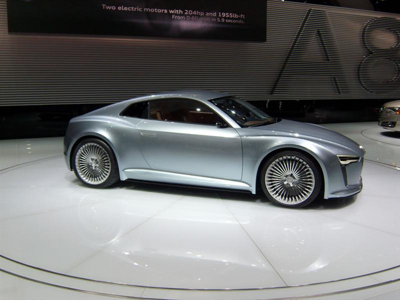 Audi E-Tron Detroit Show Car en Detroit 2010