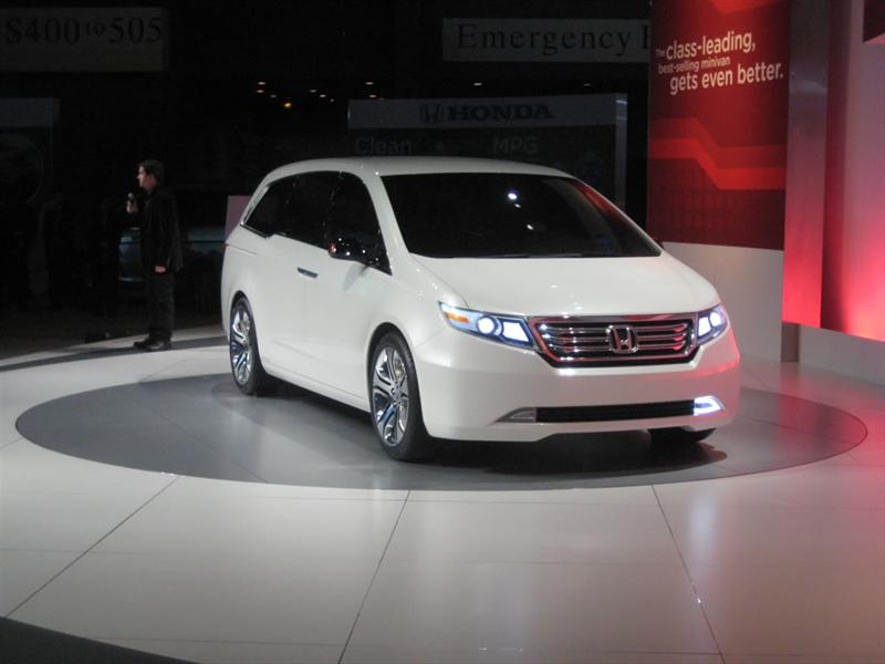Honda Odyssey Concept en Chicago 2010