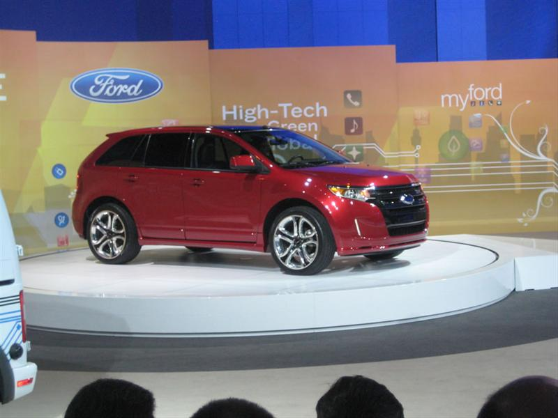 Ford Edge 2011 en Chicago 2010