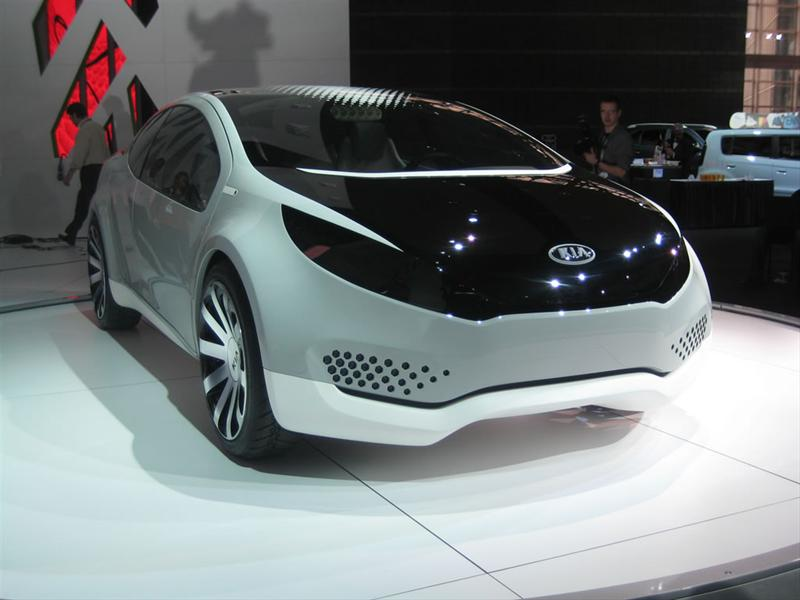 Kia Ray Concept en Chicago 2010