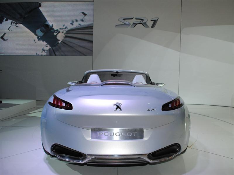 Peugeot SR1 Concept en el Salón de Buenos Aires