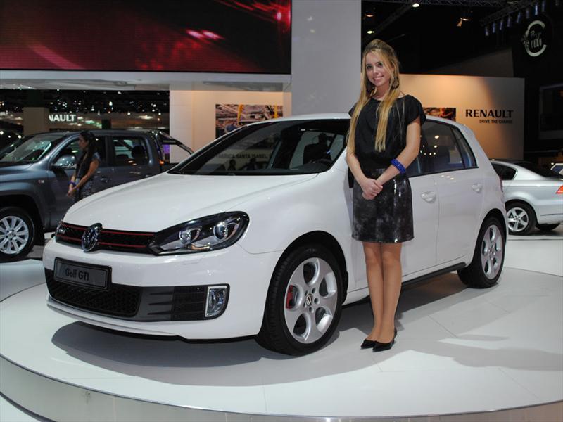 Volkswagen Golf GTi en el Salón de Buenos Aires