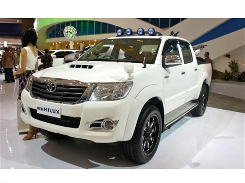 Nueva Toyota Hilux, fotos exclusivas en vivo