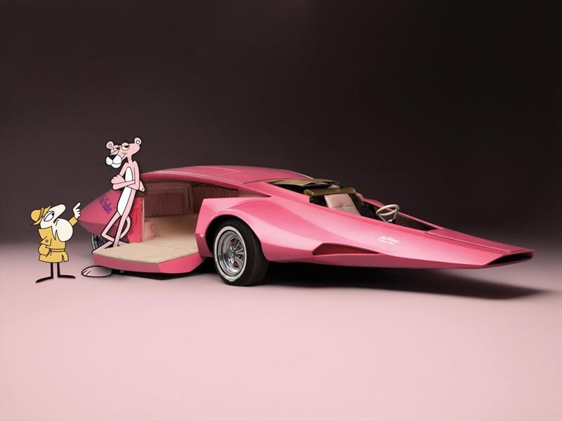 El auto de la Pantera Rosa a subasta