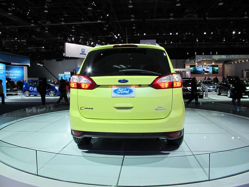 Ford Focus C-Max en el Salón de Detroit 2011
