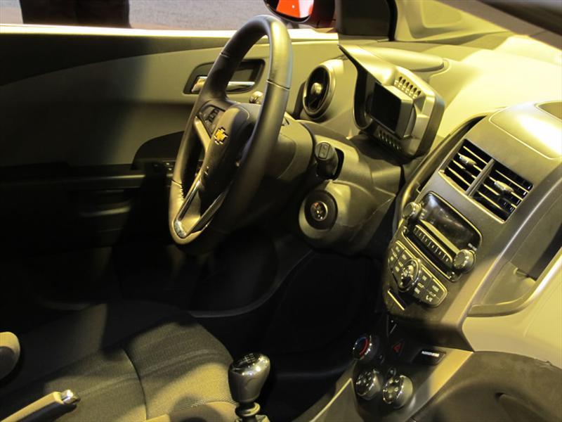 Chevrolet Sonic 2012 en el Salón de Detroit 2011