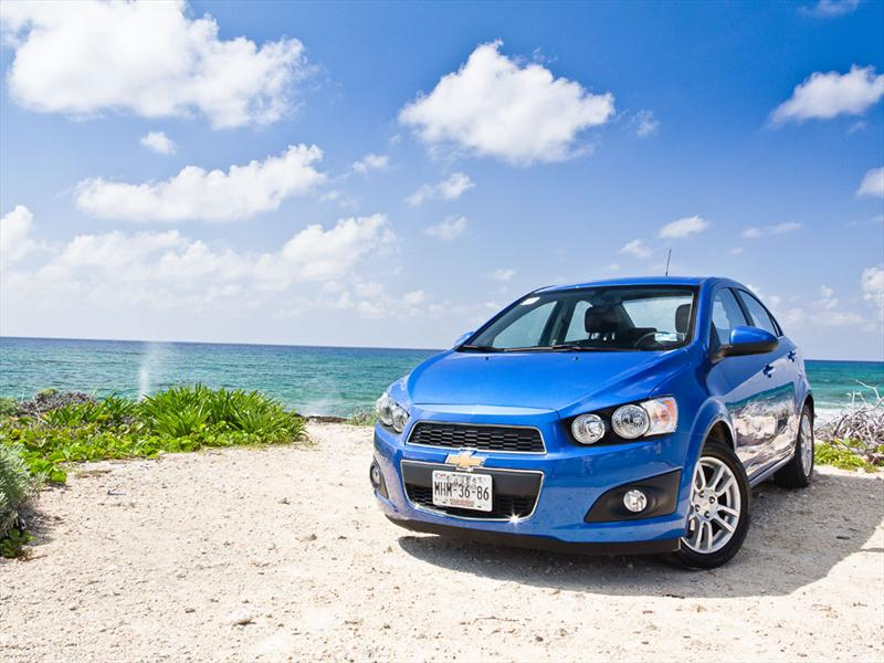Chevrolet Sonic 2012 presentación en México