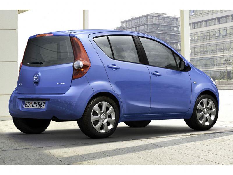 Opel Agila/Suzuki Splash