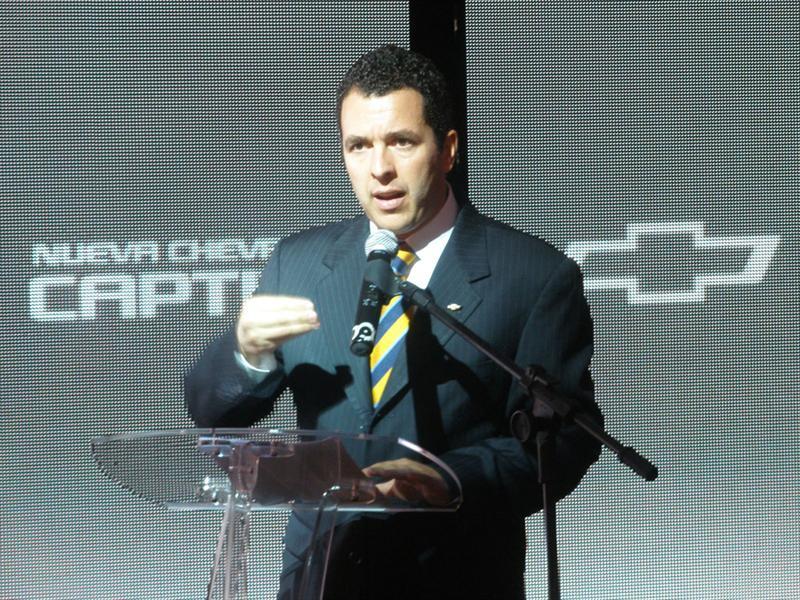 Lanzamiento nuevo Chevrolet Captiva 2012