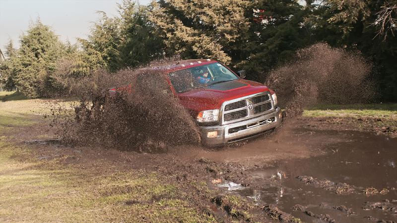 Super Prueba 2012 Ram Power Wagon 2013