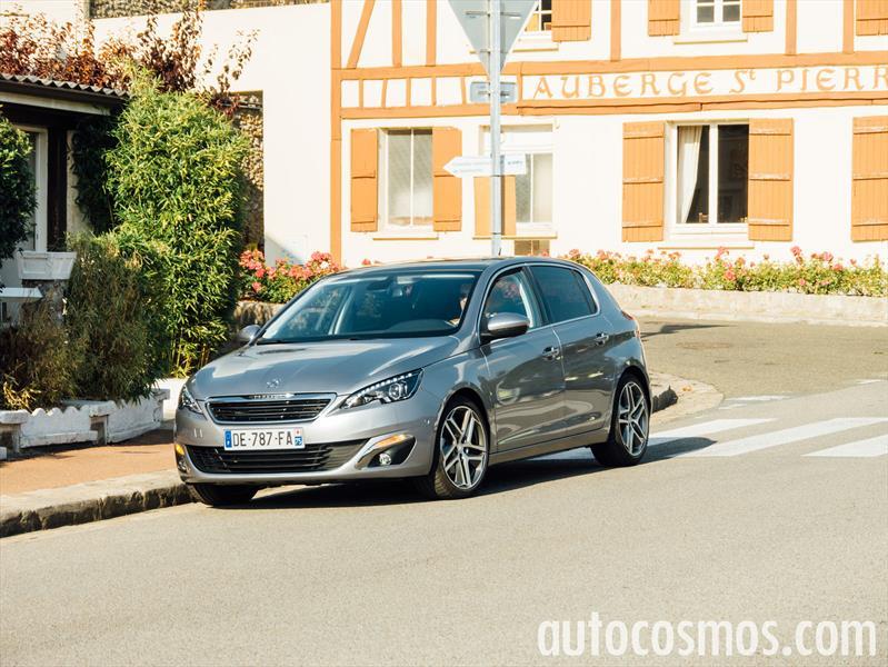 Nuevo Peugeot 308 europeo a prueba