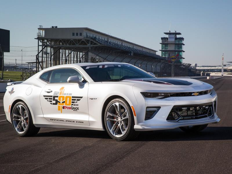 Camaro 50th Anniversary, el pace car en Indy 500