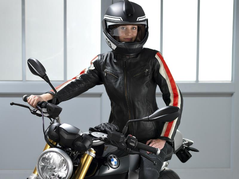 BMW Motorrad, luz láser & casco Head-Up Display