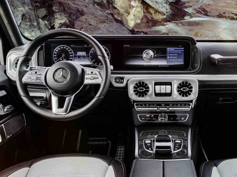 Así es el interior del Mercedes-Benz Clase G