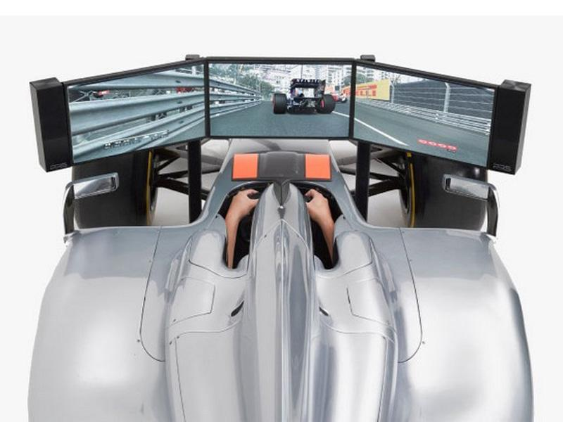 F1 racing simulator
