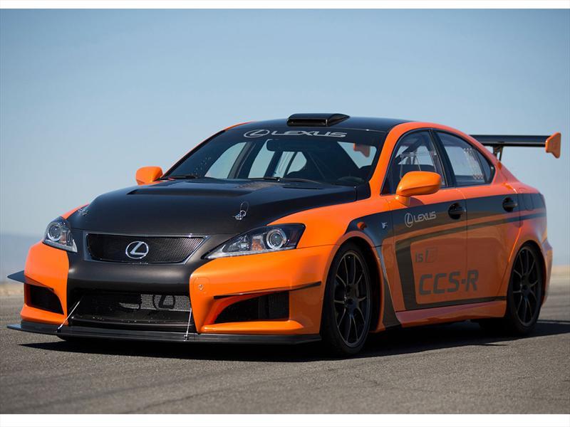 Lexus IS F CCS-R en Pikes Peak 2012