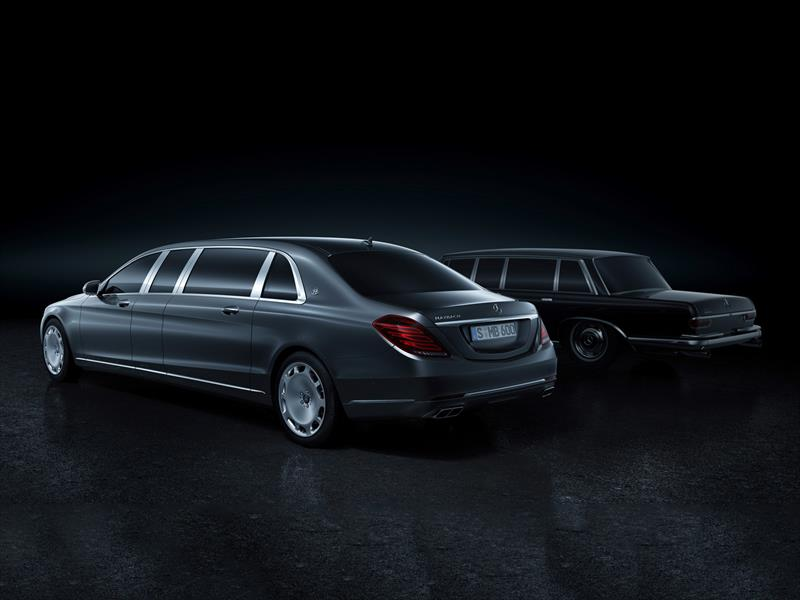 Mercedes-Maybach S600 Pullman 2016