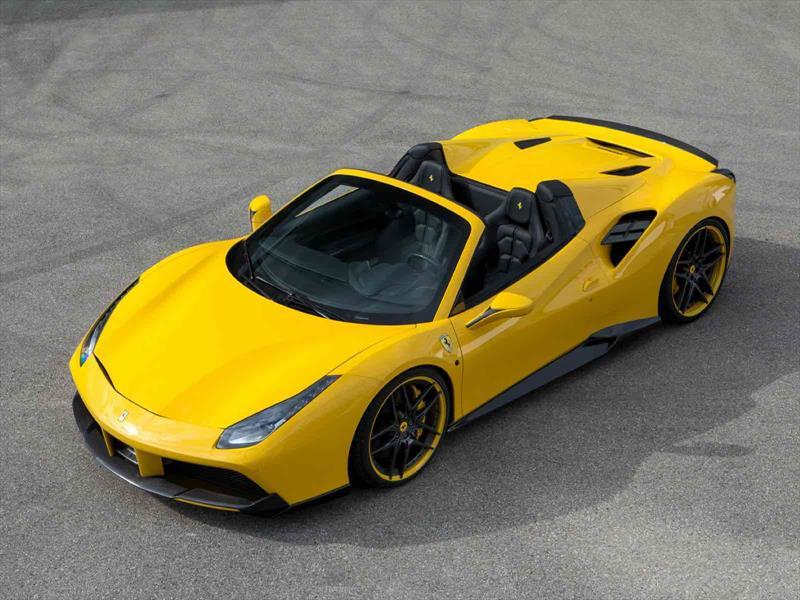 Ferrari 488 Spider por Novitec Rosso