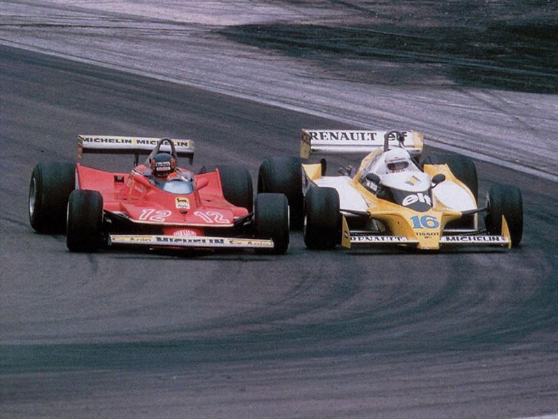Gilles Villeneuve a 30 años