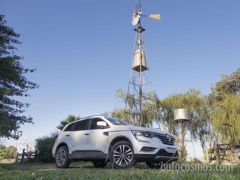 Nuevo Renault Koleos a prueba