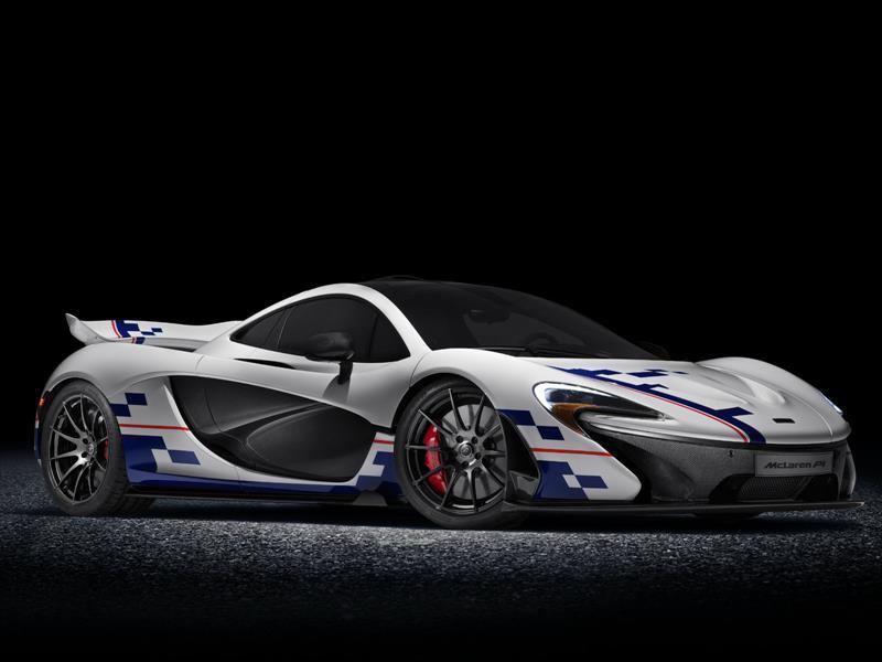 McLaren P1 inspirado en Alain Prost