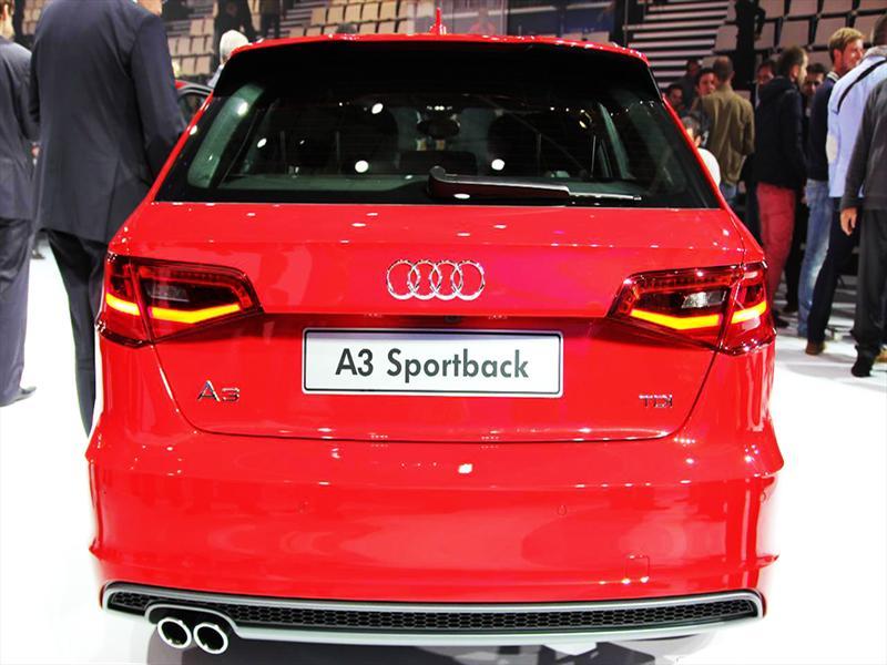 Nuevo Audi A3 Sportback en París 2012
