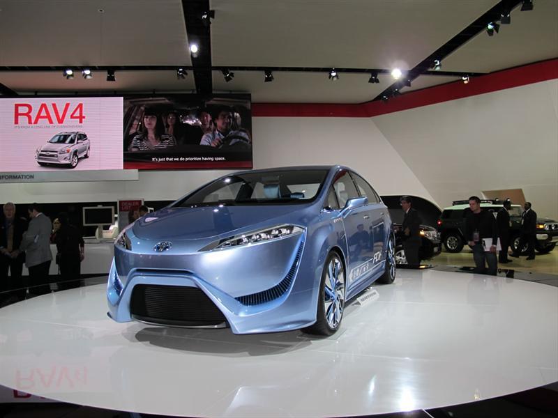 Toyota FCV-R Concept en Detroit 2012