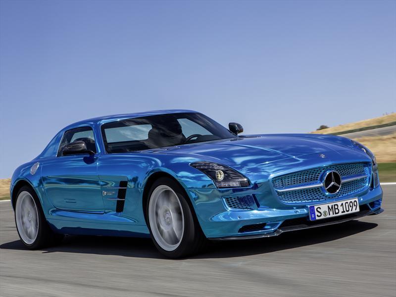 Top 10: Mercedes-Benz SLS AMG Electric Drive