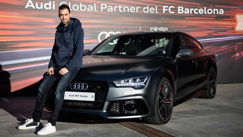 Audi y los carros para el FC Barcelona