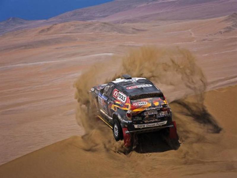 Palpitando el Dakar 2012