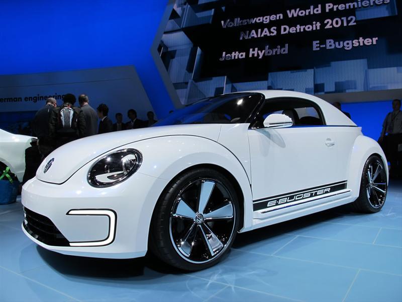 Volkswagen Beetle E-Bugster Concept en Detroit