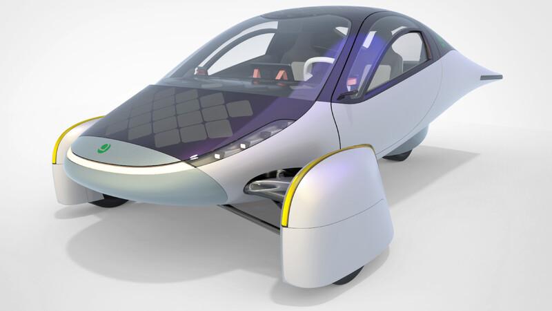 Aptera, el vehículo eléctrico solar