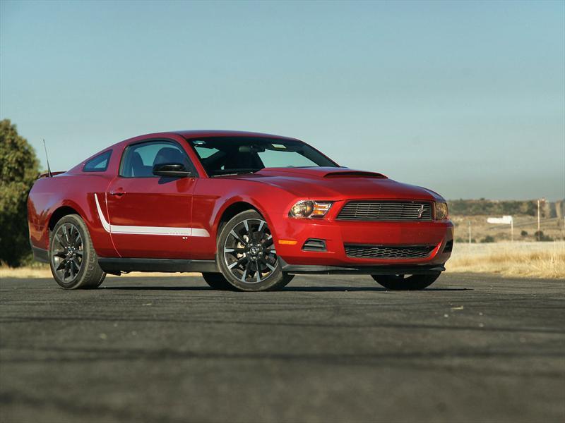Ford Mustang ST 2012 a prueba en pista