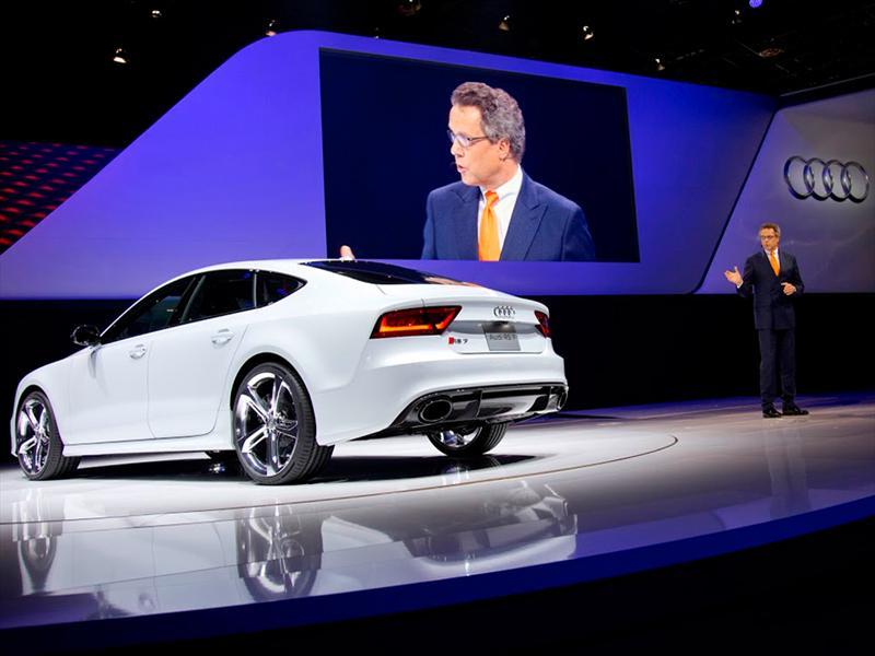 Audi RS7 presentado en Detroit