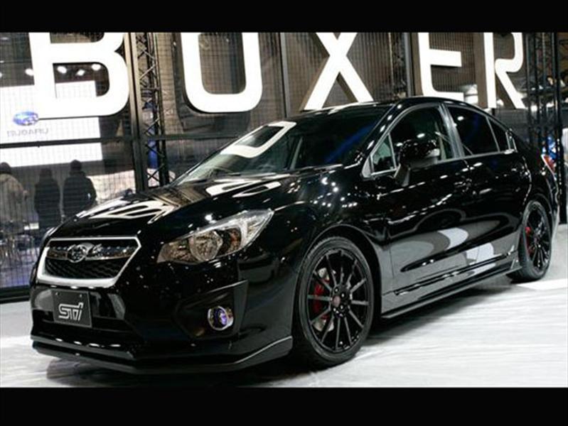 Subaru Impreza 2012 STi, sedán y 5P