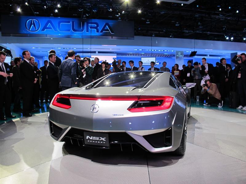 Acura NSX Concept en el Salón de Detroit 2012