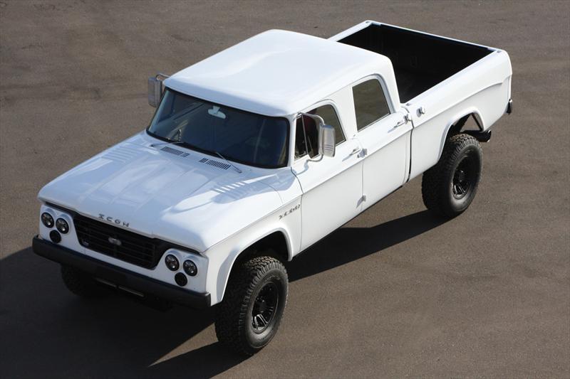Top 10: Icon Dodge D200 en SEMA Show 2012