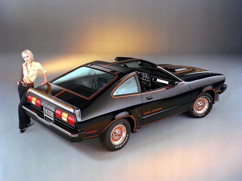 Mustang 50 años: 1978 el Mustang II King Cobra