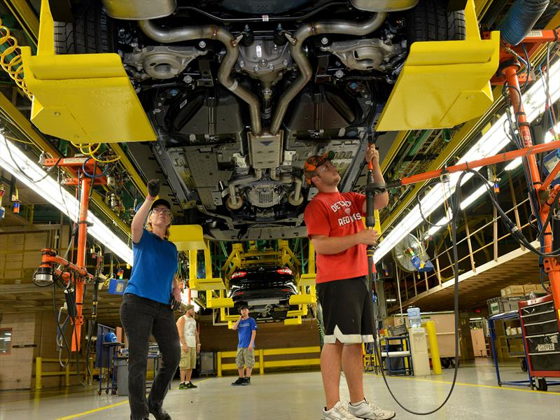 Ford Mustang 2015: inicia producción