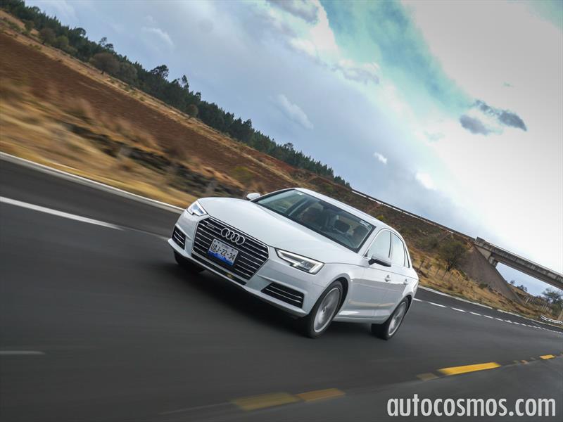 Prueba Audi A4, la quinta generación