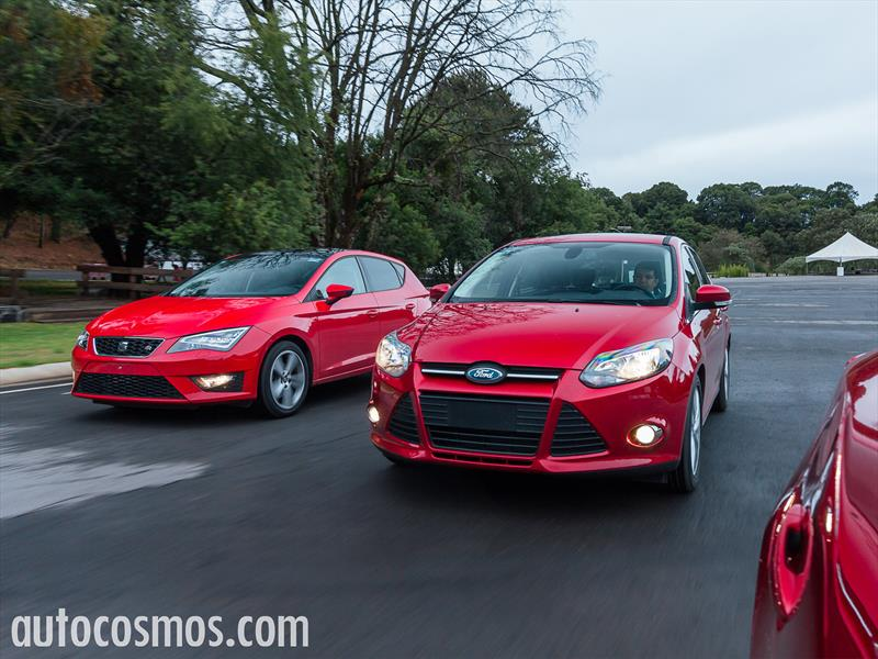 SEAT Leon vs Mazda3 vs Ford Focus