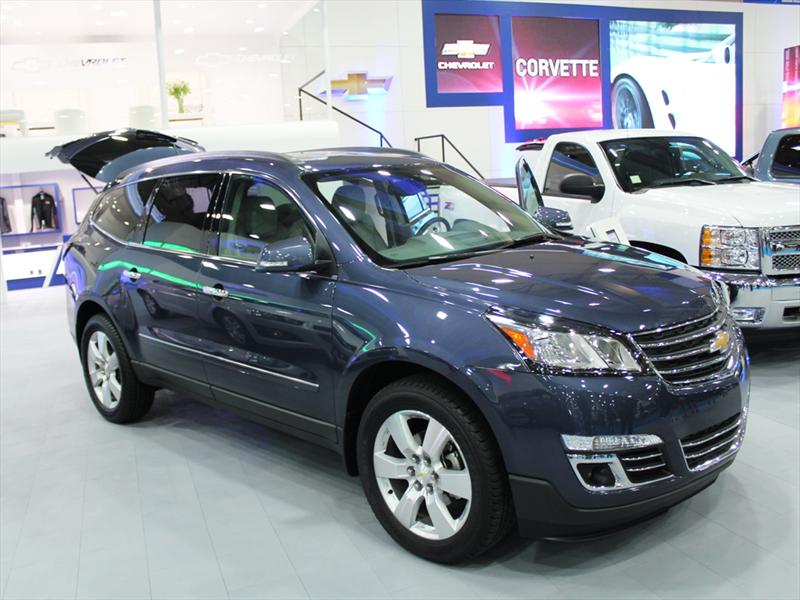 Nuevo Chevrolet Traverse en el Salón del Automóvil