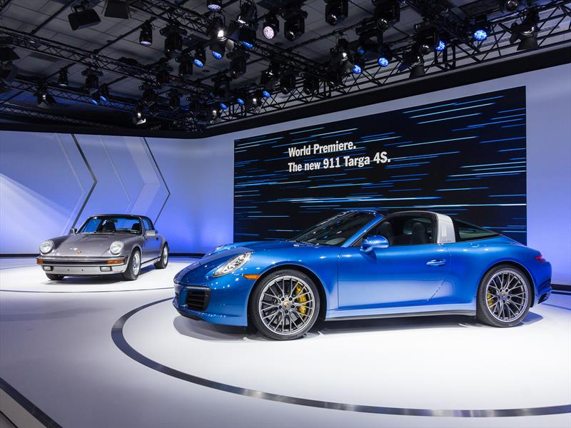 Porsche 911 Targa 4 2017