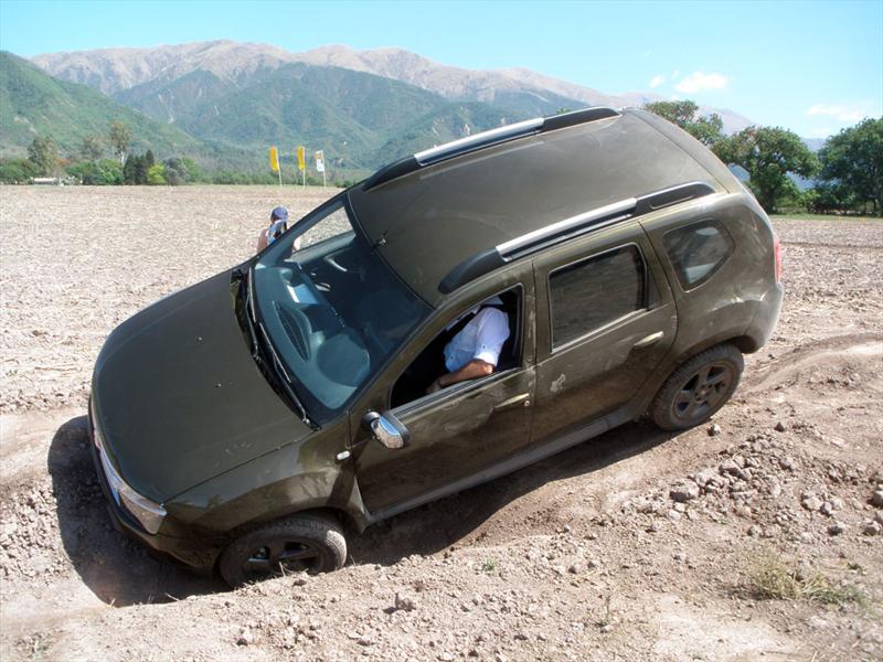Renault Duster, prueba off road