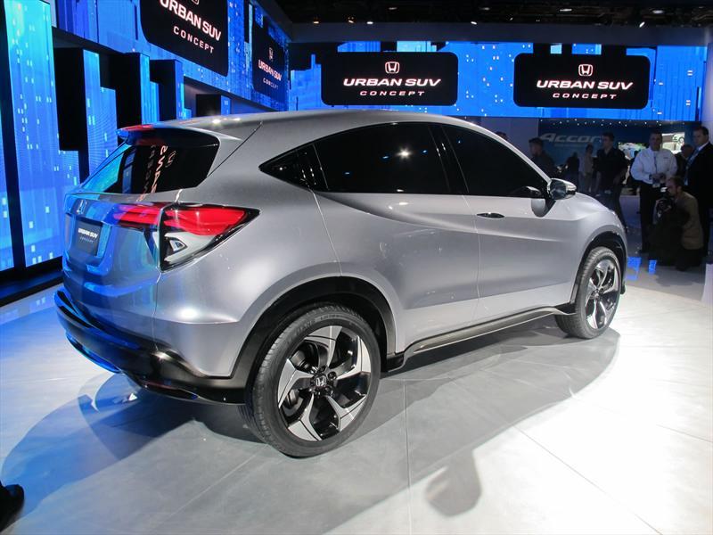 Honda Urban SUV Concept en vivo