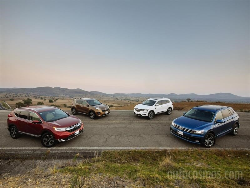 Comparativa: CR-V VS Tiguan VS Koleos VS Sportage