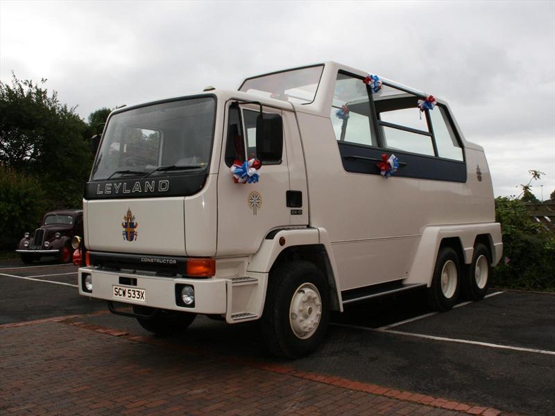 Top 10: Camión Leyland Motors de 24 toneladas